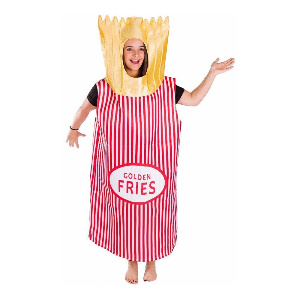 Golden Fries Budget Maskeraddräkt - One size