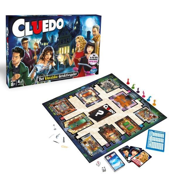 Hasbro Cluedo (Svenskt)