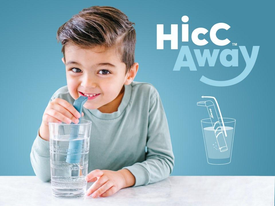 HiccAway Sugrör mot Hicka