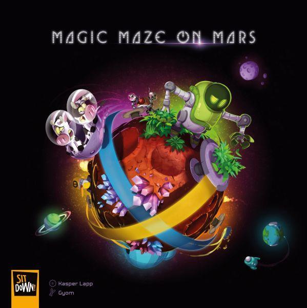 Magic Maze On Mars (Eng)