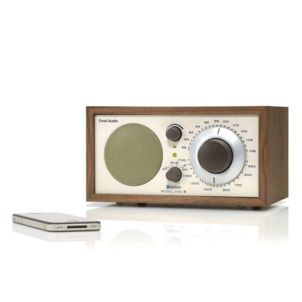 Model One BT Radio med Bluetooth Valnöt