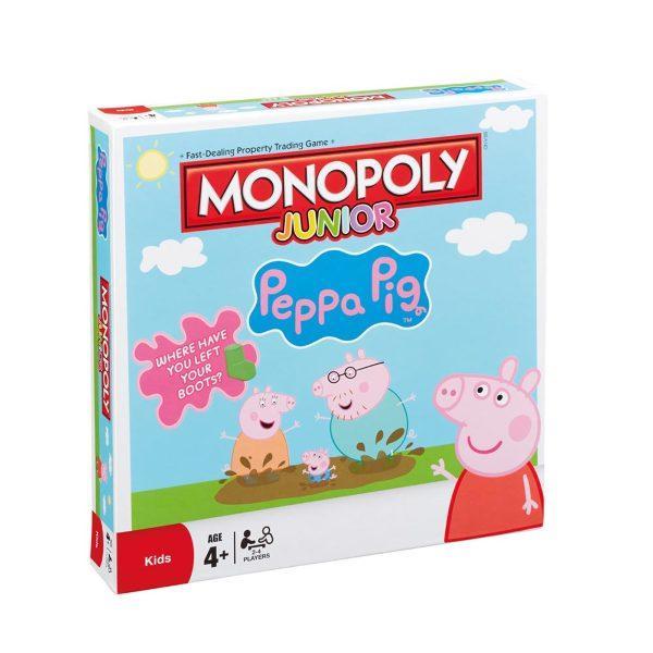 Monopoly Junior - Peppa Pig/Greta Gris (Eng)