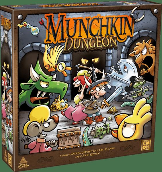 Munchkin Dungeon (Eng)