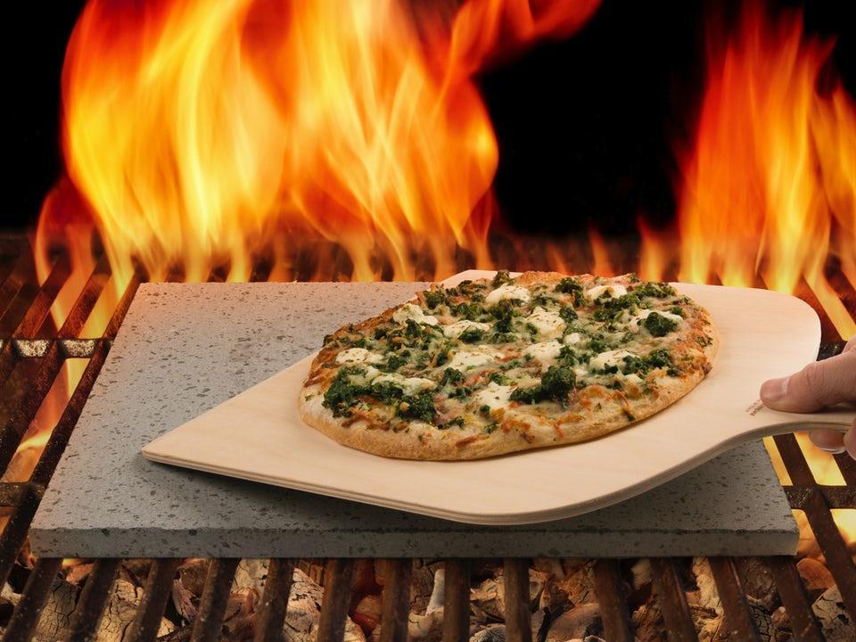 Pizzasten Av Lava Från Etna