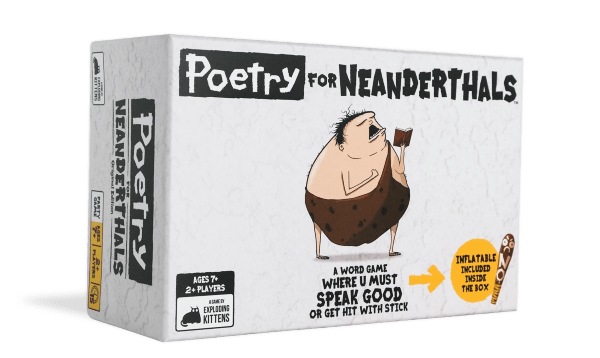 Poetry for Neanderthals (Engelsk)