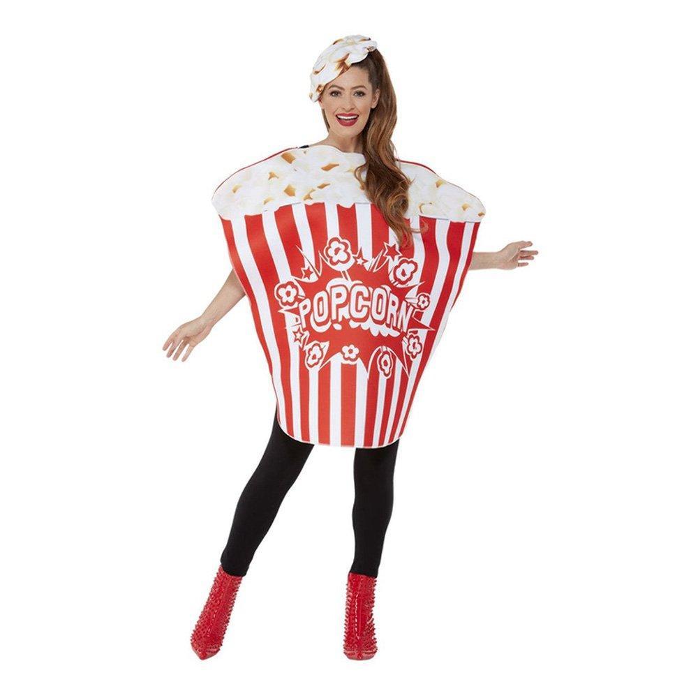 Popcornskål Maskeraddräkt - One size