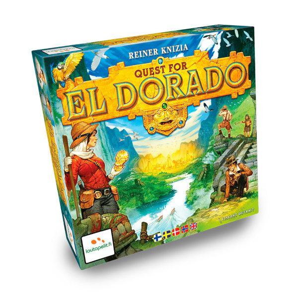Quest for El Dorado (Nordisk+Eng)