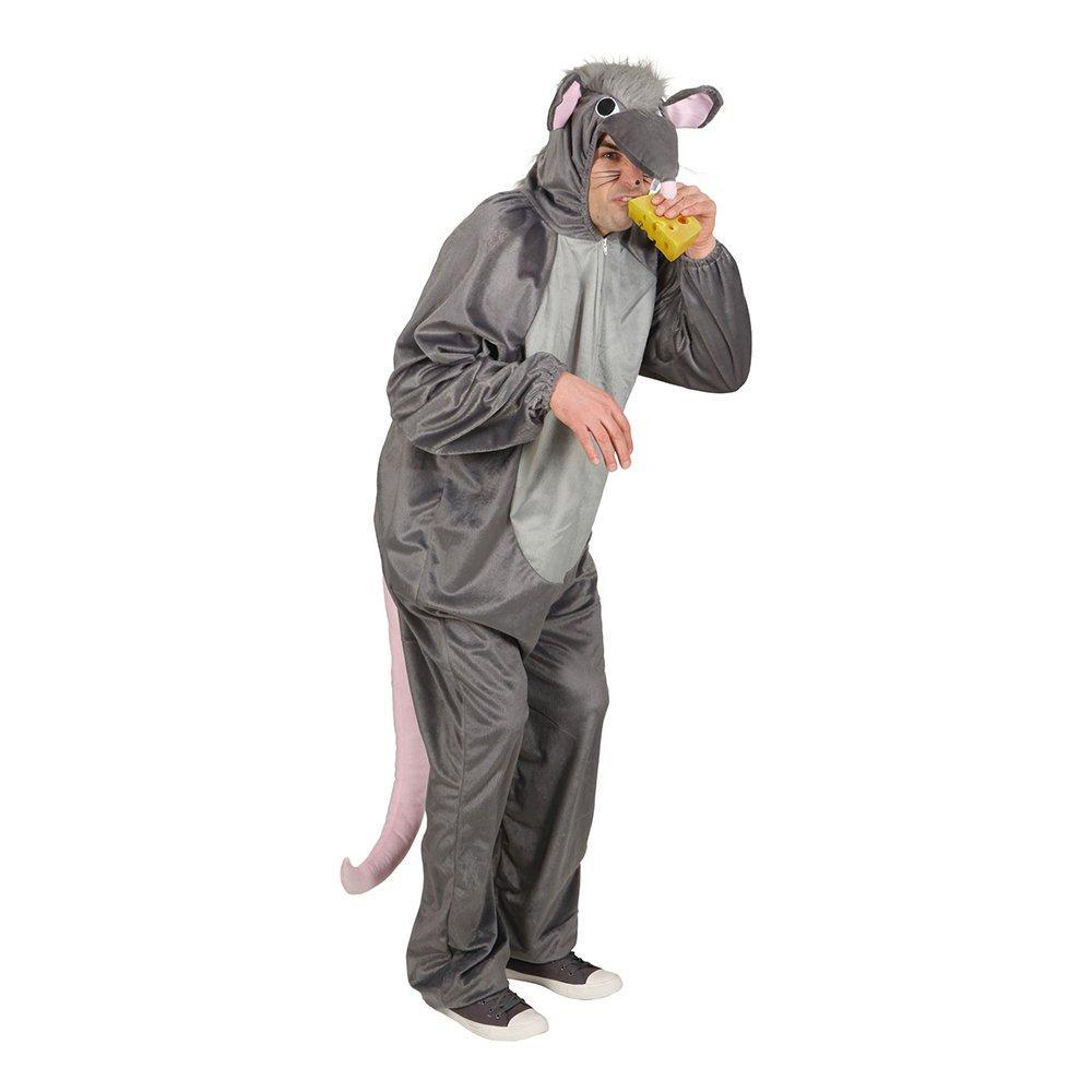 Råtta Maskeraddräkt - One size