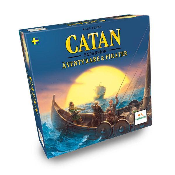 Settlers från Catan - Äventyrare och Pirater (Svenska)