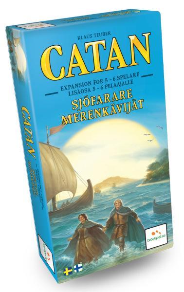 Settlers från Catan – Sjöfarare 5-6 spelare Expansion (Svenska)