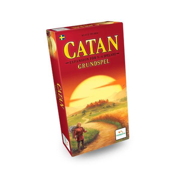 Settlers från Catan 5-6 spelare Expansion (Svenska)