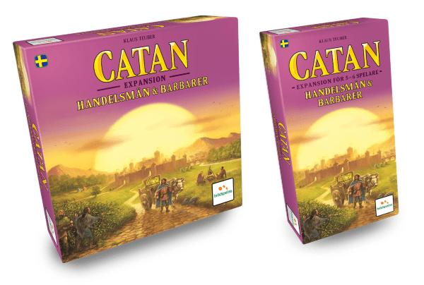 Settlers från Catan - Handelsmän & Barbarer + Expansion för 5-6 Spelare (Svenska)