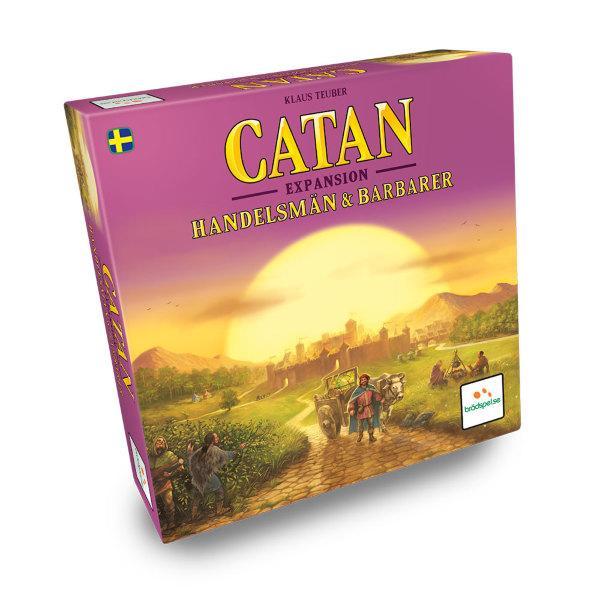 Settlers från Catan - Handelsmän & Barbarer (Svenska)