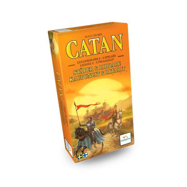 Settlers från Catan - Städer och Riddare 5-6 spelare Expansion (Svenska)