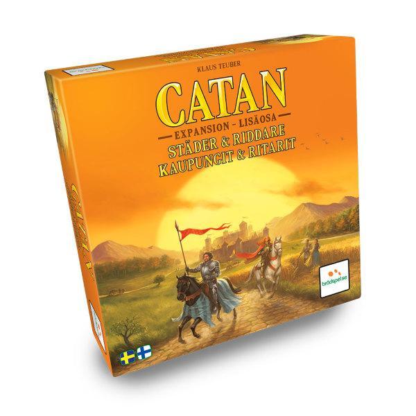 Settlers från Catan - Städer och Riddare Expansion (Svenska)