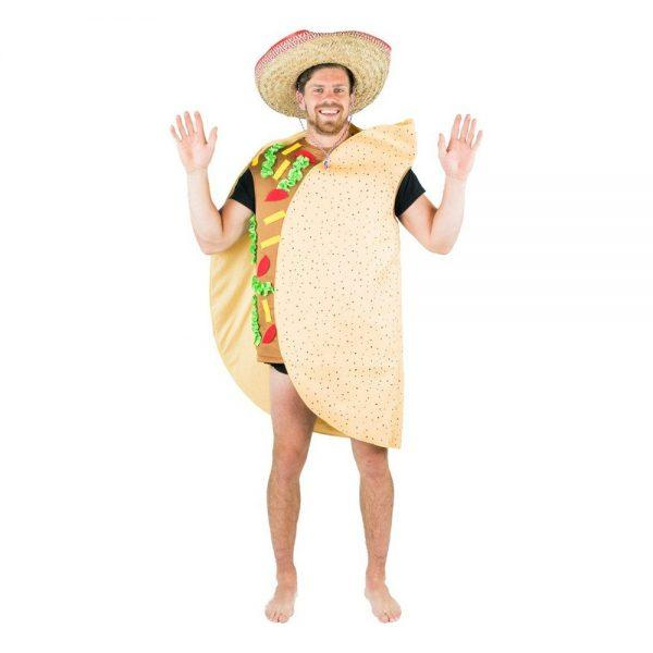 Tacos Maskeraddräkt - One size