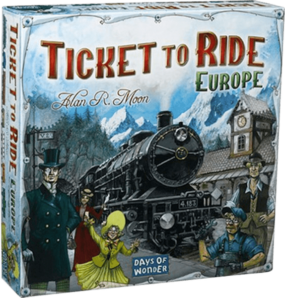 Ticket To Ride - Europe (skandinavisk)