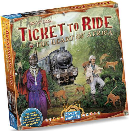 Ticket To Ride Map Collection No 3 - The Heart of Africa Expansion (Eng & Nordisk)