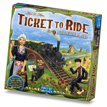 Ticket To Ride Map Collection No 4 - Nederland Expansion (Eng & Nordisk)