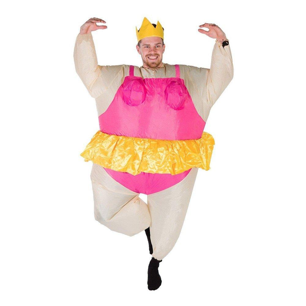 Uppblåsbar Ballerina Maskeraddräkt - One size