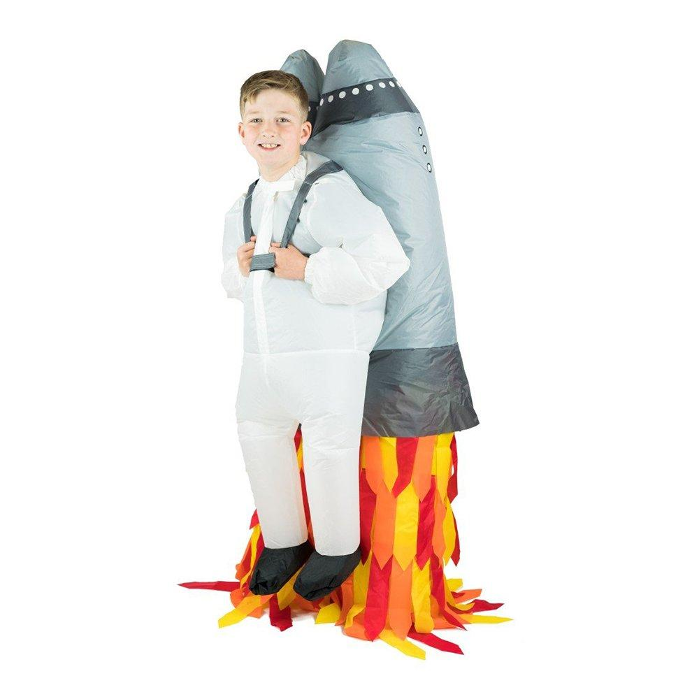 Uppblåsbar Jetpack Barn Maskeraddräkt - One size