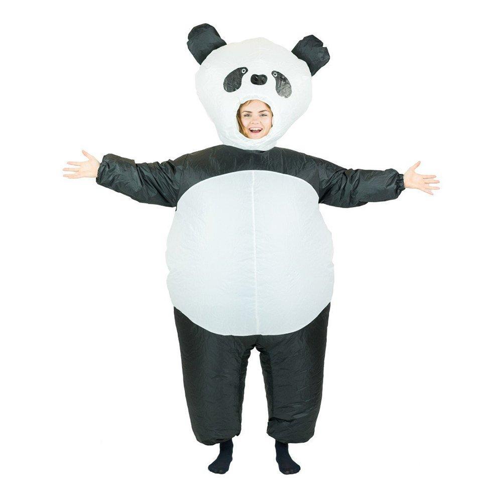 Uppblåsbar Panda Maskeraddräkt - One size