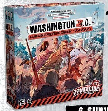 Zombicide 2nd Edition Washington Z.C. Expansion
