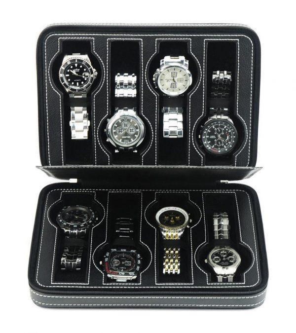 klocklåda för 8 klockor med dragkedja