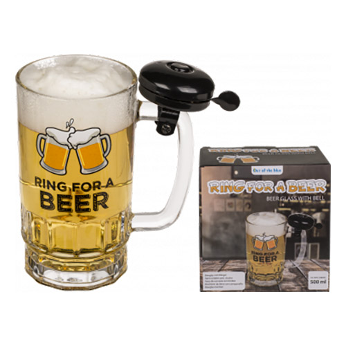 Ölglas med Klocka - 1-pack