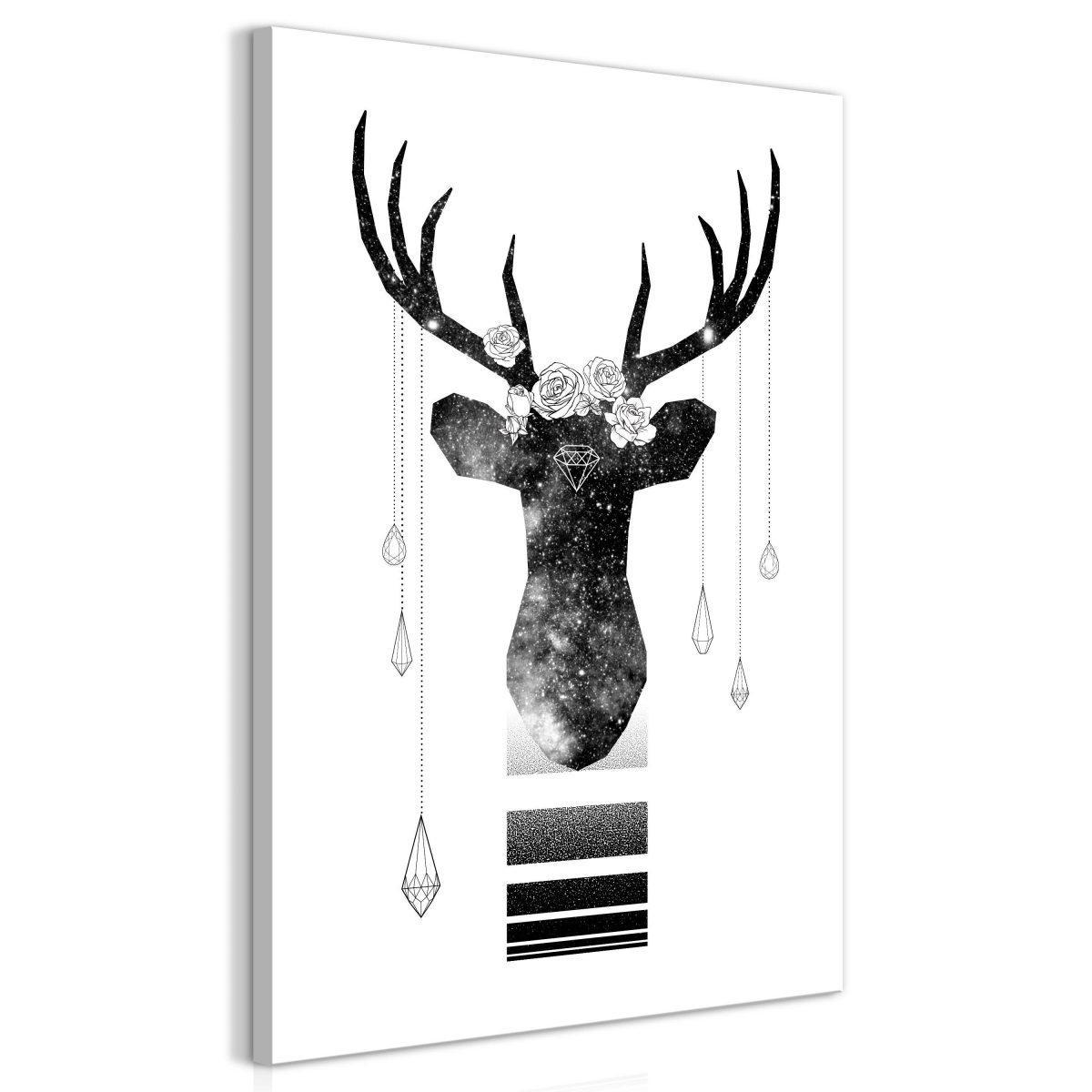 Canvas Tavla - Abstract Antlers