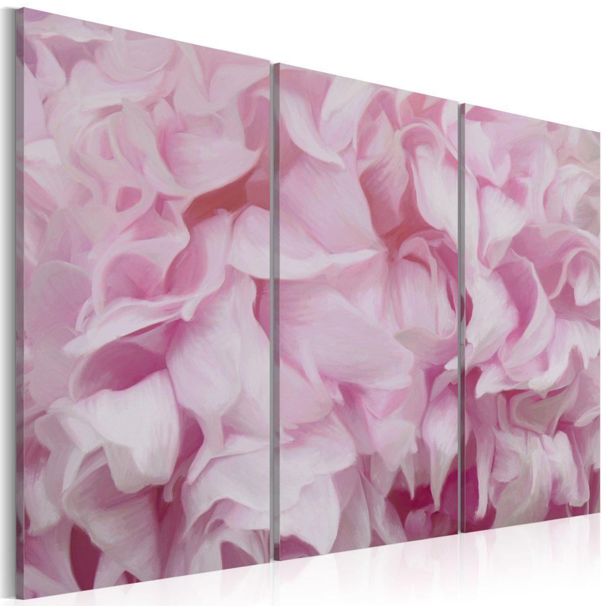 Canvas Tavla - Azalea i rosa - 60x40