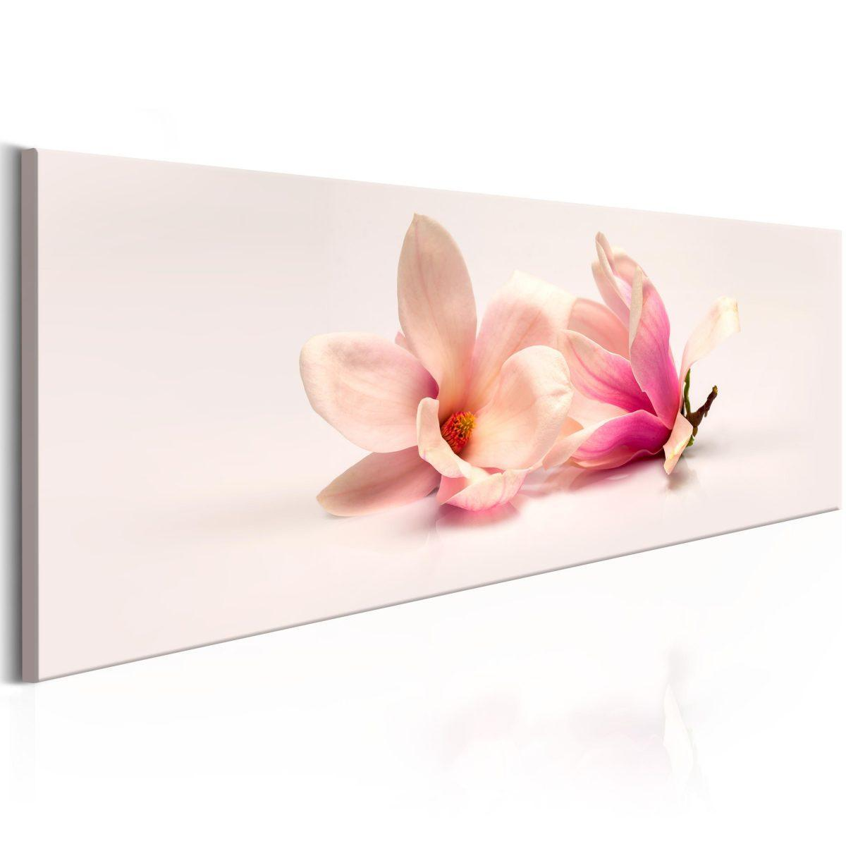 Canvas Tavla - Beautiful Magnolias - 120x40
