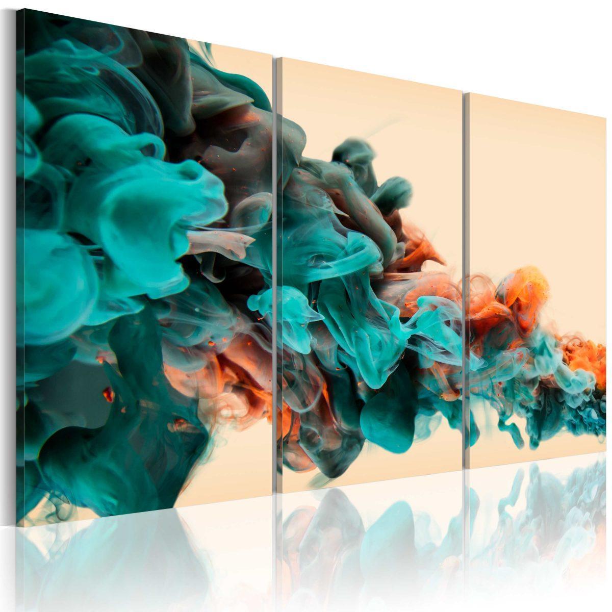 Canvas Tavla - Färgdjup - 60x40