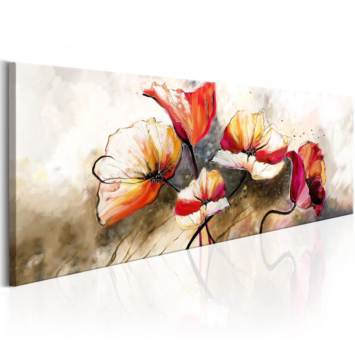 Canvas Tavla - The Secret of Gentleness - 120x40