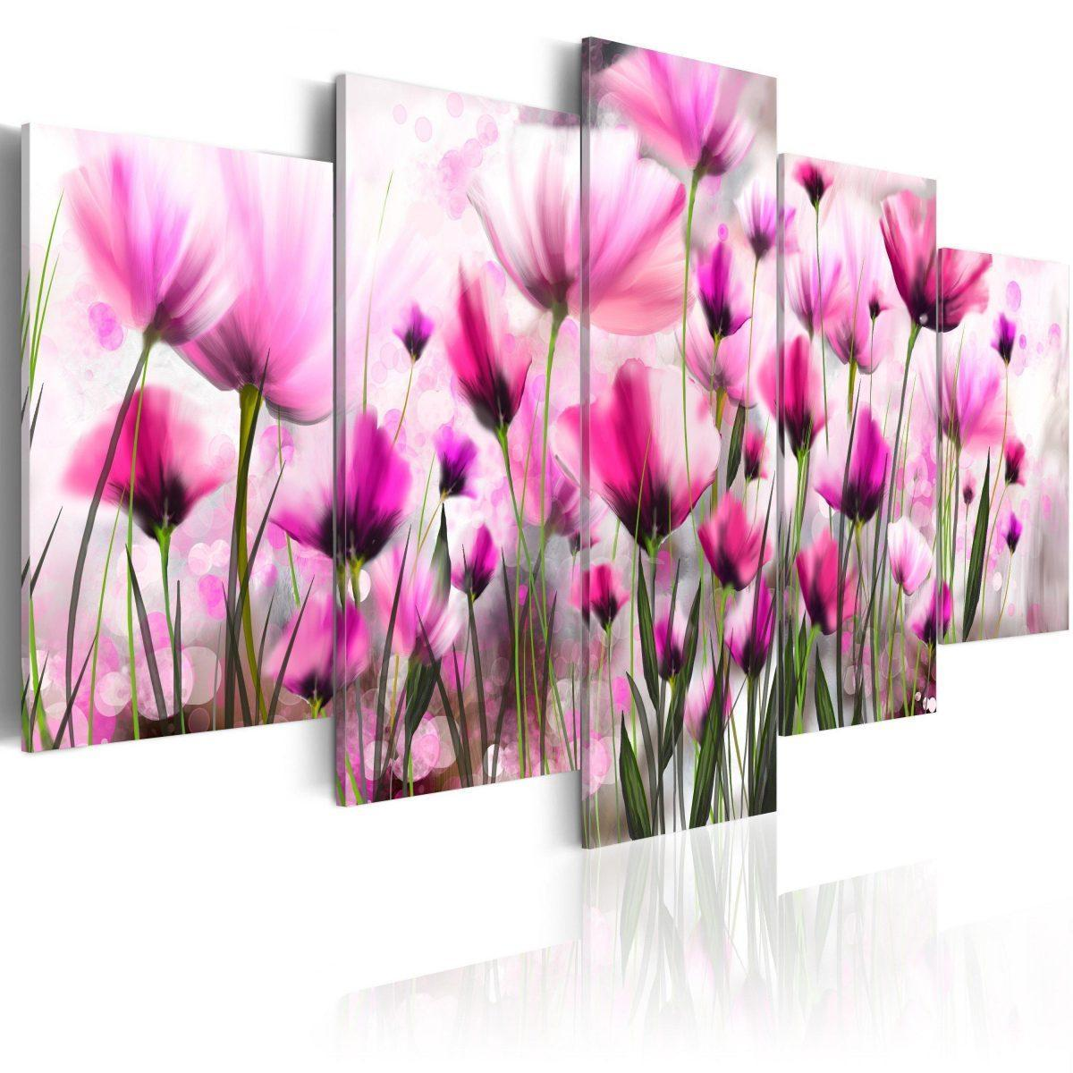 Canvas Tavla - The secret garden - 100x50