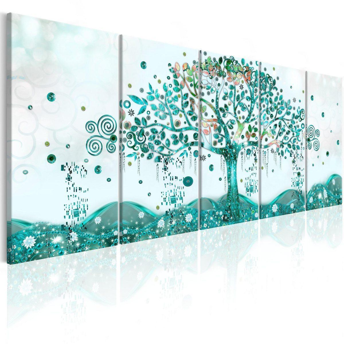 Canvas Tavla - Waving Tree - 200x80
