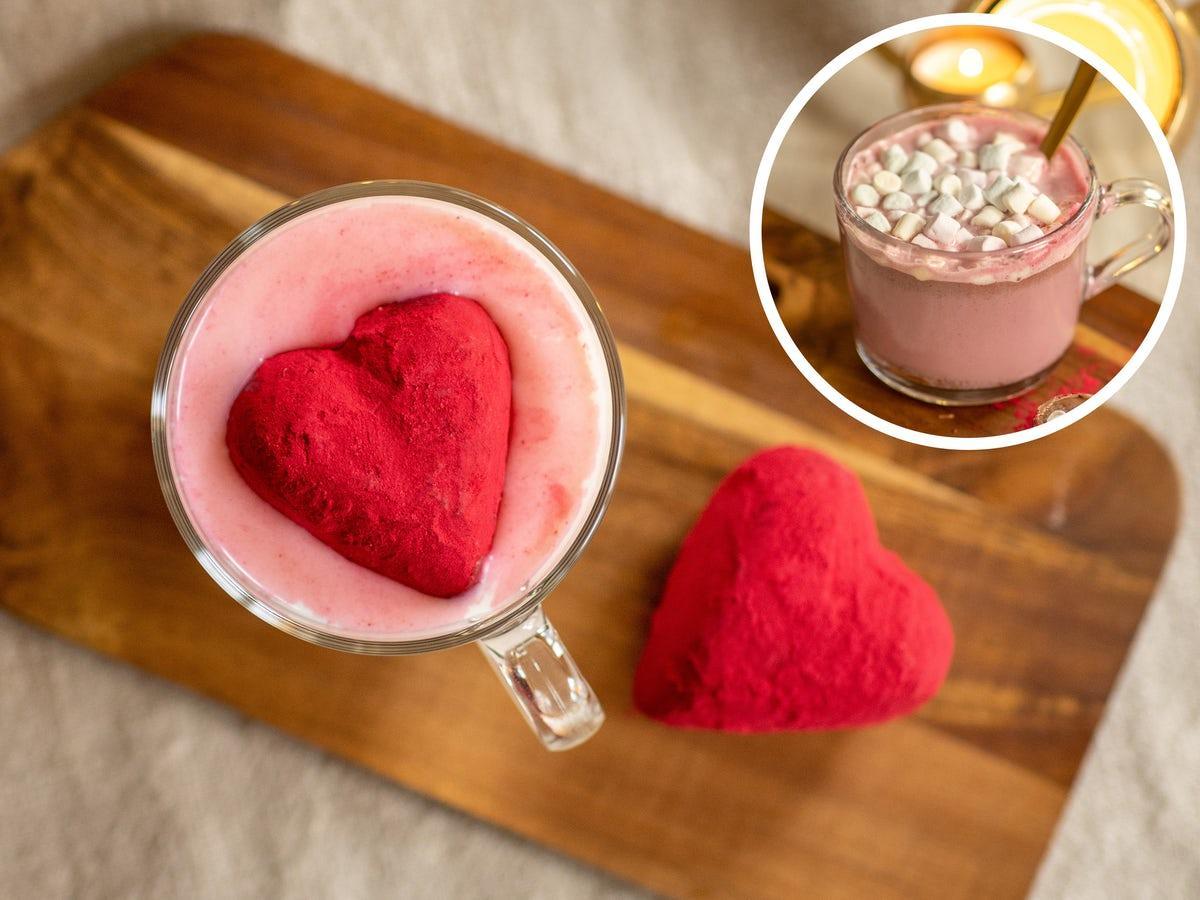 Chokladbombshjärtan för Varm Choklad 2-pack