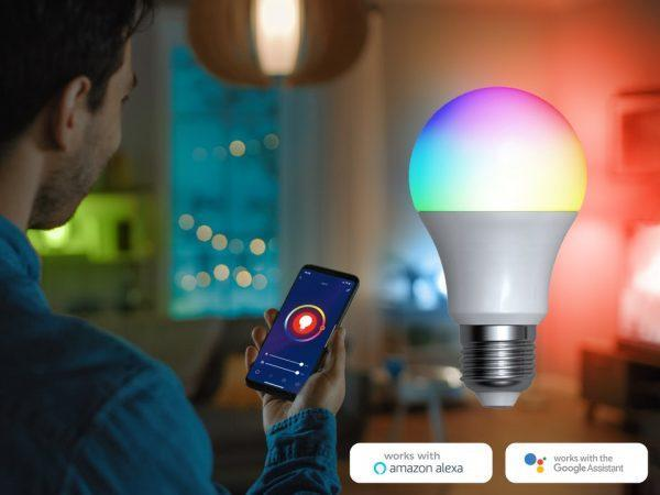 Denver Smart RGB LED-lampa Wi-Fi (1-pack)