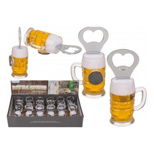 Kapsylöppnare Ölglas med Magnet - 1-pack