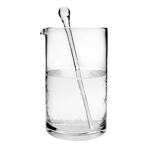 Martini Teardrop Drinkpinnar i Glas - 6-pack