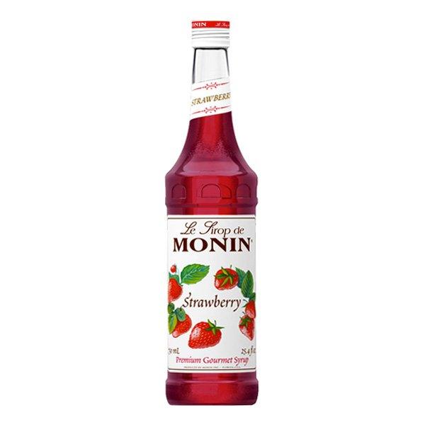 Monin Jordgubbe Drinkmix - 70 cl