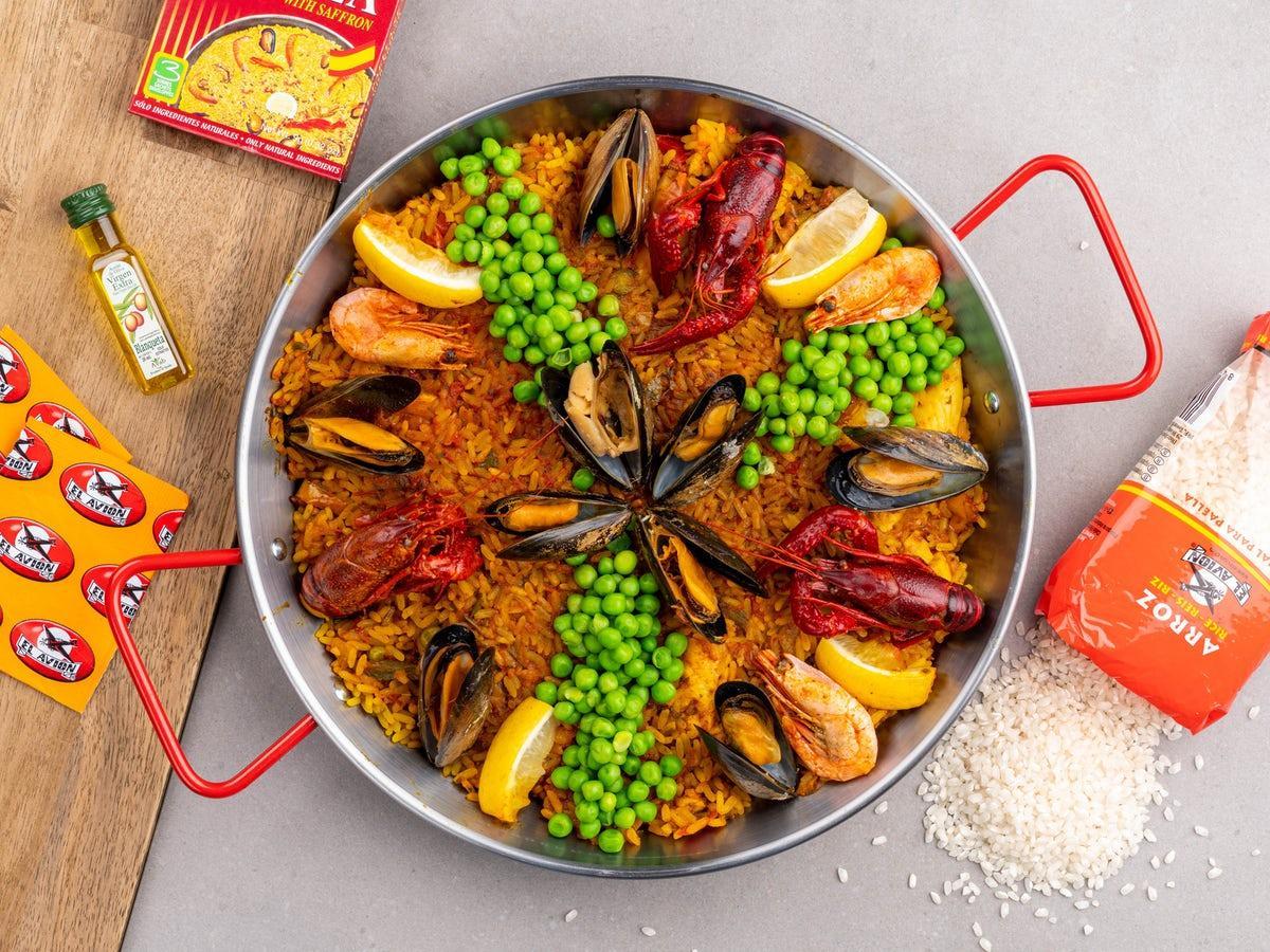 Paella-set