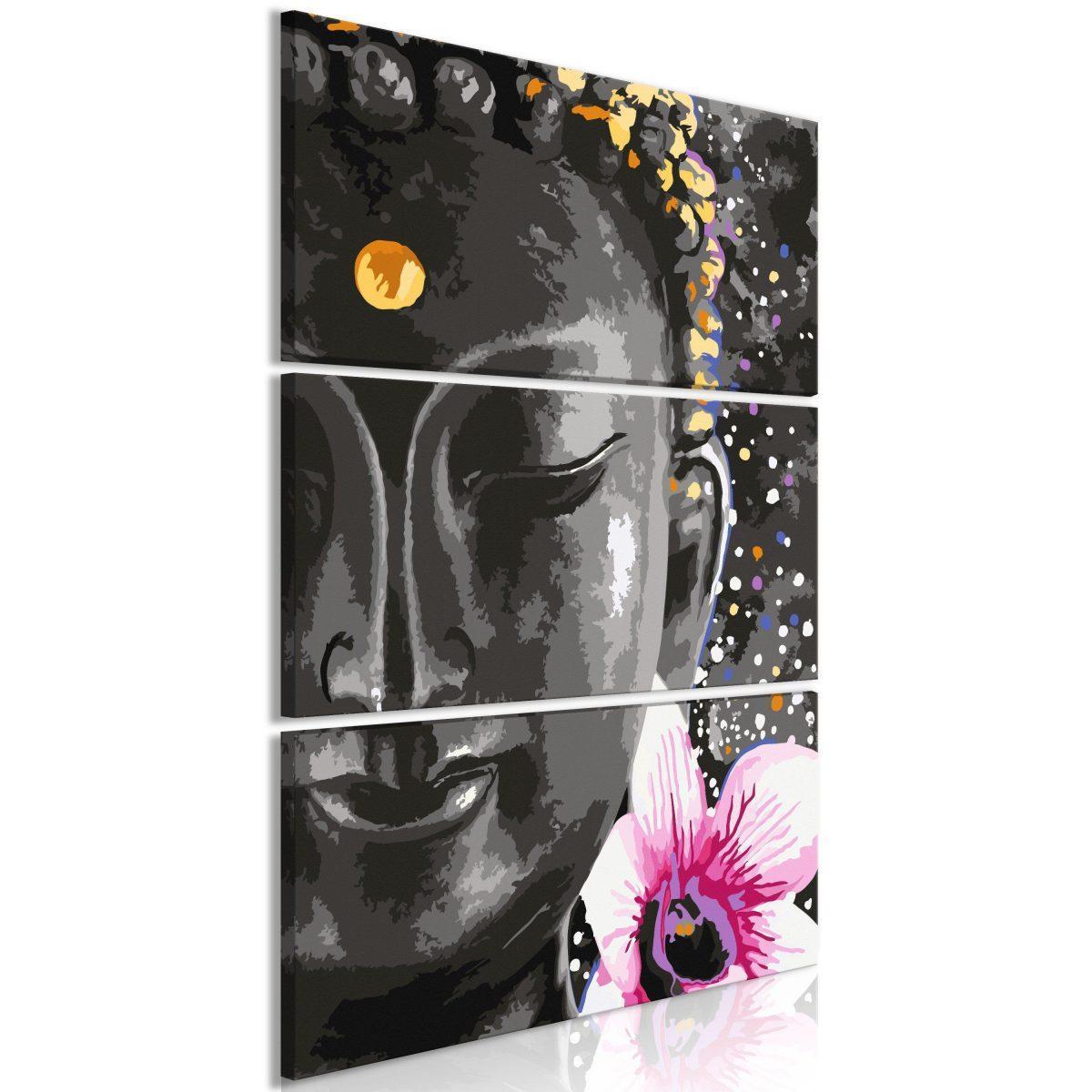 Tavla - Buddha and Flower