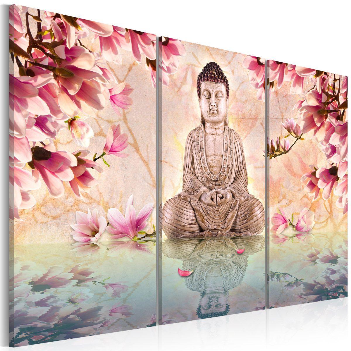 Tavla - Buddha - meditation - 60x40