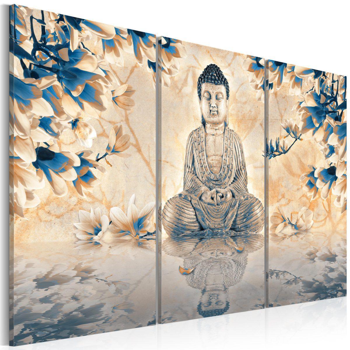 Tavla - Buddhistiska ritual - 60x40