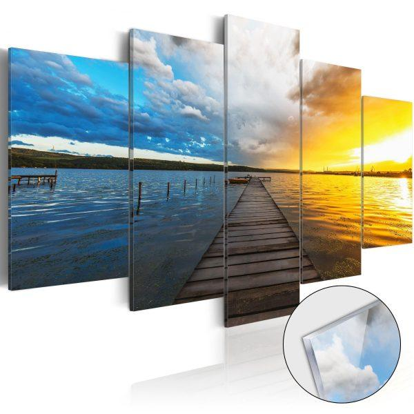 Tavla i akrylglas - Lake of Dreams - 100x50
