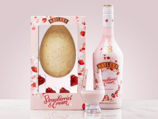 Baileys Strawberries & Cream Chokladägg