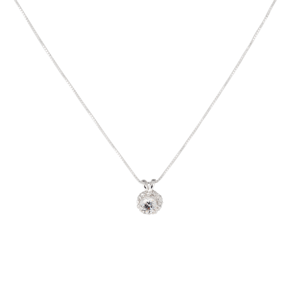 Emma Israelsson Small Princess Necklace Silver