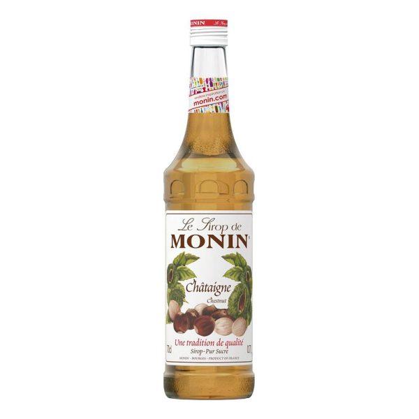 Monin Chestnut Syrup - 70 cl