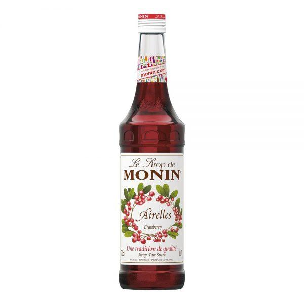 Monin Cranberry Syrup - 70 cl